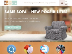 Sofa covers that ameliorate furniture